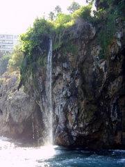 Antalya - kleiner Wasserfall - Wasserfall, Antalya, Türkei, türkisch, Reviera, klein