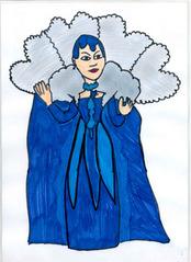 Die Königin der Nacht - Zauberflöte, Königin der Nacht, Oper, Mozart, Tochter, Pamina