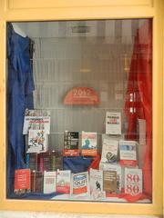 Présidentielle 2012 - Frankreich, civilisation, librairie, Buchhandlung, élection, présidentielle, Präsidentschaftswahl, 2012, tricolore, bleu blanc rouge, Buch, livre