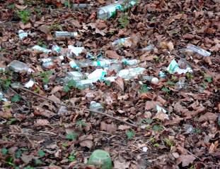 Abfall in der Natur entsorgt #2 - Müll, wilder Müll, Abfall, entsorgen, Natur, wild