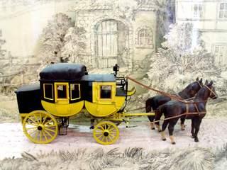 Pferdekutsche - Kutsche, Pferde, gelb, Pferd, Fuhrwerk, Zugtier, Zugtiere, ziehen, reisen, fahren, Karosserie, anspannen, Verdeck, Verkehrsmittel, Rad, Kreis, Umfang, Mathematik