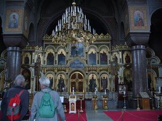 Uspensky Kathedrale Helsinki - Finnland, Helsinki, Kathedrale, orthodox, Bilder, Kronleuchter, Gold, Schmuck, Altar