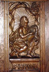 Evangelist Johannes - Evangelium, Evangelist, Neues Testament, Neues Testament, Ratskammer, Friedenssaal, Münster, Fensternischen