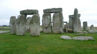 Stonehenge Fotos - Stonehenge, Großbritannien, Steinkreis, Weltkulturerbe, Frühgeschichte, Jungsteinzeit, Wiltshire, Grabanlage, Megalithe, Megalith, Pfeilersteine, Pfeilerstein, Decksteine, Deckstein