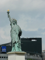 Statue de la liberté#1 - Paris, Statue de la liberté, Freiheitsstatue, Seine, Île des Cygnes, Bartholdi