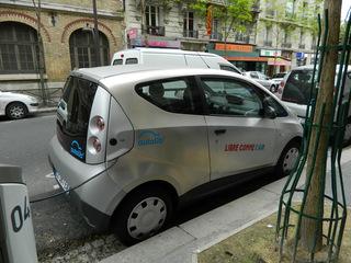 Autolib' - Paris, Frankreich, civilisation, autolib', voiture, vélib', Elektroauto, Carsharing, Leihwagen, ausleihen, fahren