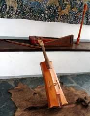 Mittelalterliche Instrumente - Instrument, Instrumente, Musik, Schalmei, Holzblasinstrument, Rebec, Zupfinstrument, Saiteninstrument, Psalter, Mittelalter