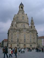 Frauenkirche - Frauenkirche, Dresden, Gebäude, Kirche, Barock, Kuppelbau, Sakralbau, Sandsteinbau