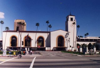 Los Angeles - Union Station - Bahnhof, Reise, reisen, Bahn, Fernweh, USA