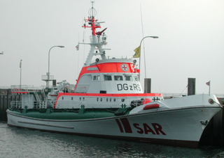 Rettungsschiff - Schiff, Boot, Helgoland, Rettung, Meer, Insel, Deutsche Gesellschaft zur Rettung Schiffbrüchiger