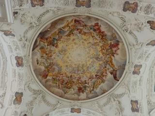 Deckenmalerei - Barock, Kirche, Kuppel, Verzierung, Fresko, Deckenmalerei, Kreis