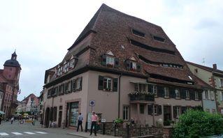 Salzhaus - Salzhaus, Wissembourg, Fachwerk, Mittelalter