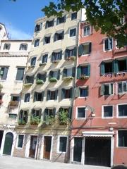 Haus im Judenviertel von Venedig - Ghetto Ebraico, Venedig, Italien, Getto, Hochhaus, Wohnhaus, Stockwerke