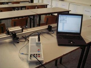 Geschwindigkeitsmessung mit Cassy - Physik, Geschwindigkeitsmessung