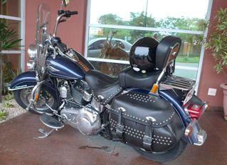 Motorrad  #2 - Motorrad, Fahrzeug, Harley, stehend, Hubraum, PS, fahren, Verkehr, Verkehrsmittel, Fortbewegung, Rad, Räder, Zweirad, Kraftrad, Krad, bewegen, motorisiert, Schaltgetriebe, rollen