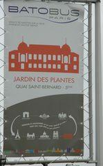 Batobus#2 - Frankreich, Paris, Seine, batobus, Schiff, bateau, panneau, Stadtrundfahrt
