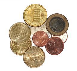 Münzen - Münze, Münzen, Geld, Hartgeld, Zahlungsmittel, zahlen, bezahlen, Kleingeld, Moneten, Bares, Knete, Kies, Zaster, Währung, Plural, Einzahl