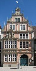 Hameln, Leisthaus - Weserrenaissance, Giebel, Museum