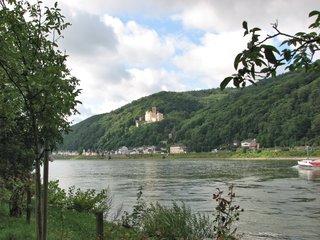 Koblenz - Blick auf Schloss Stolzenfels - Schloss, Stolzenfels, Preußen, Rhein, Rheinromantik, neugotisch, Kulturdenkmal, UNESCO-Welterbe, Museum