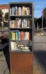 Offener Bücherschrank - Offener Bücherschrank, Büchertausch, offen, Bücher, Schrank, lesen, tauschen, Austausch, leihen, kostenlos, billig, gebraucht
