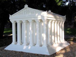 Die sieben antiken Weltwunder #3a - Tempel, Antike, Weltwunder, Säulen, Artemis