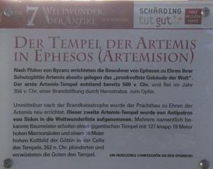Die sieben antiken Weltwunder #3b - Tempel, Artemis, Erklärung