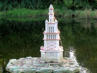 Die sieben antiken Weltwunder #5a - Leuchtturm, Pharos, Weltwunder, Antike, Alexandria, Ägypten