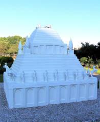 Die sieben antiken Weltwunder #7a - Grabmal, Maussolos, Halikarnassos, Weltwunder, Antike, Mausoleum