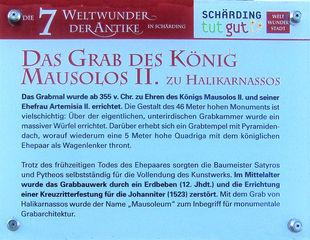 Die sieben antiken Weltwunder #7b - Erklärung - Grabmal, Maussolos, Halikarnassos, Weltwunder, Antike, Mausoleum, Erklärung