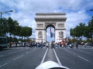Arc de Triomphe, Paris - Paris, Monument, Wahrzeichen, Frankreich, Gebäude, Sehenswürdigkeit, Arc de Triomphe, Bogen, Triumphbogen