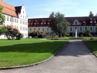 Kloster Benediktbeuern #2 - Kloster, Klosterkirche, St Benedikt, Benediktiner, katholisch, Orden