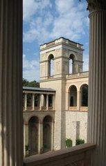 Potsdam, Belvedere #1 - Potsdam, Belvedere, Preußen, Preussen, Neorenaissance, Schloss, symmetrisch, Symmetrie