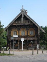 Potsdam Alexandrowka Russische Kolonie #1 - Potsdam, russisch, Kolonie, Alexandrowka, Holz, Holzhaus, Verzierung, Giebel, Welterbe, UNESCO