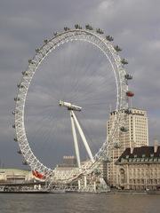 London Eye - London, Sightseeing, Themse, London Eye, Riesenrad, Eye, London Eye, Millennium Wheel, Umdrehung, Rad, Kreis, Speichen, England, Konstruktion, Ausflug, Erlebnis, Gondeln, Sehenswürdigkeiten, sights