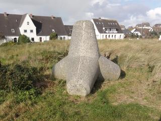 Tetrapoden3 - Tetrapoden, Sylt, Nordsee, Küstenschutz, Sturmflut, Landverlust, Hörnum