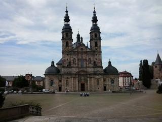 Dom zu Fulda - Dom, Kirche, Gotteshaus, Fulda, Bischof, Bonifatius, Bistum, Bischofskonferenz, katholisch