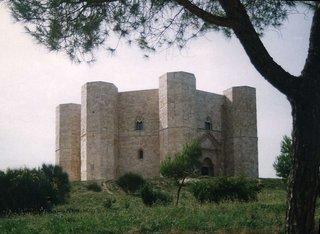 Castel del Monte - Schloss, Mittelalter, Friedrich II Barbarossa, Kastell, Castel del Monte, Süditalien, Italien, Apulien, Turm, Türme, Achteck