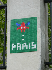 Space Invaders Paris #1 - Streetart, Invader, Space Invaders, Paris, Mosaik