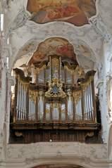 Orgel - Orgel, Kirchenorgel, Kirche, Münster, Musik, Musikinstrument, Gottesdienst, Pfeifen, Töne, Instrument, Wind, Luftstrom, Spieltisch, Empore, Organist, Register, Lieder, Konzert