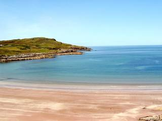 Schottland - Western Highlands - Küste - Schottland, Highlands, Sandstrand, Natur, Wasser, Meer, Sand, Ufer, Küste