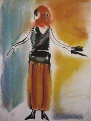 Mode-Entwürfe nach Künstlern - Modeentwürfe, Mode, Kunst, Textilkunst, Bekleidung, Produktgestaltung, Design, Modedesign