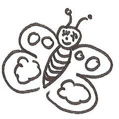 Schmetterling - Schmetterling, Illustration, Zeichnung, Tier, Insekt