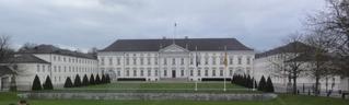 Schloss Bellevue Berlin - Bundespräsident, Bundespräsidialamt, Staatsoberhaupt, Schloss, Schloss Bellevue, Berlin