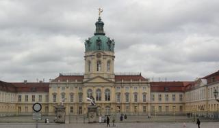 Schloss Charlottenburg Berlin - Schloss, Schloss Charlottenburg, Berlin, Zaun, Kuppel
