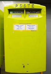 Briefkasten - Post, Briefkasten, Postkasten, poste italiane