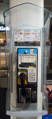 Telefonzelle # 02 - Post, Telefon, Fernsprecher, Kommunikation, öffentliche Telefonzelle, Telefonzelle, öffentlich, Telefonhäuschen, Fernsprechhäuschen, Fernsprechapparat, telefonieren