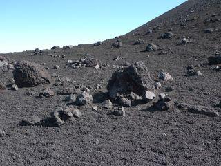 Ätna #06 - Ätna, Etna, Vulkan, Lava, Lavafeld, Gesteinsbrocken