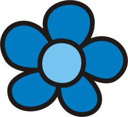 Blüte blau - Blütenblatt, Blütenblätter, Blume, Blumen, Garten, Wiese, Anlaut B