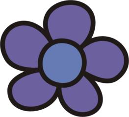 Blüte lila - Blütenblatt, Blütenblätter, Blume, Blumen, Garten, Wiese, Anlaut B