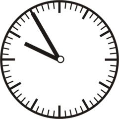 Uhrzeit 9.55 - 21.55 - Uhr, 5 Minuten vor, Uhrzeit, Zeit, Zeitspanne, Zeitpunkt, Zeiger, Mechanik, Zeitskala, Zeitgeber, Analoguhr, Zifferblatt, Ziffernblatt, rechtsdrehend, Uhrzeigersinn, Minute, Stunde, Kreis, Winkel, Grad, Mathematik, Größen, messen, time, clock, ermitteln, Zeitraum, Dauer, Frist, Termin, Zeitabschnitt